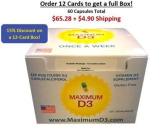 Order 12 Cards to get a full Box!